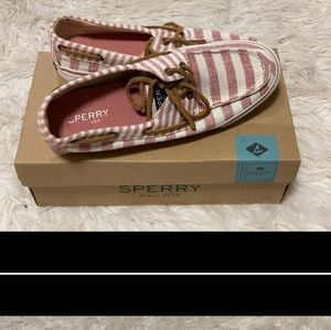 ISO (not for sell)! Sperry multi stripe shoes